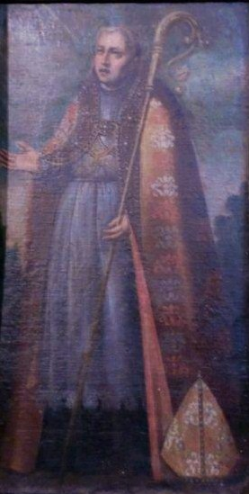 San Fructuoso de Braga, iglesia de Ayoó de Vidriales, Zamora (España).