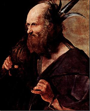 San Judas Tadeo. Lienzo de Georges de La Tour (1615-1620). Museo Toulouse, Albi (Francia)