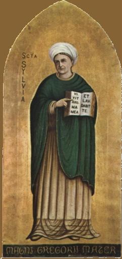 Santa Silvia, anónimo italiano del siglo XV.