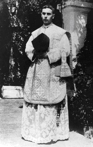 Bilde fra første messe