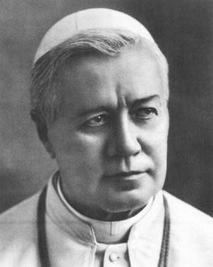 Fotografía del Santo pontífice.