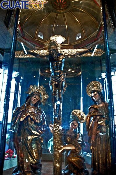 Imagen original en el camarín de Ntro. Sr. de Esquipulas. APELGJ: Fondo Santos y Papas, Sección: Devociones, expo. 2.