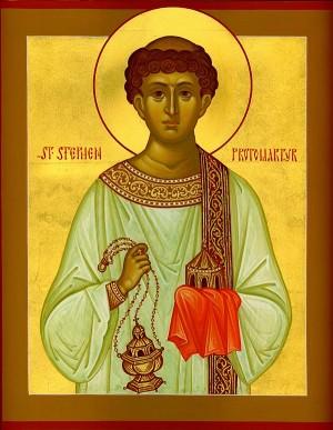 Icono ortodoxo americano del Santo. Iglesia de la Santa Dormición de Cumberland (EEUU).