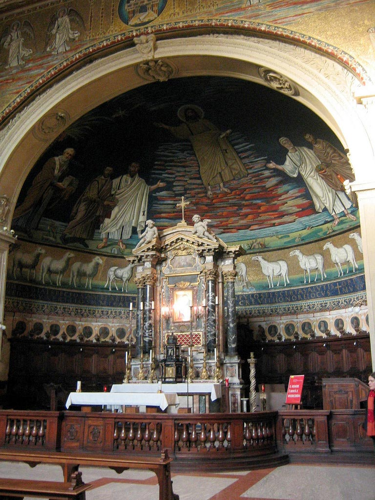 Basilica De Los Santos Cosme Y Damian Pregunta Santoral