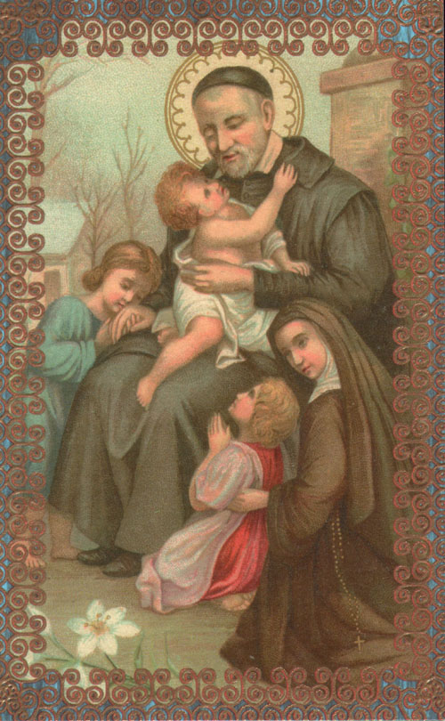 San vicente de pa l pregunta santoral for Piscina san vicente de paul