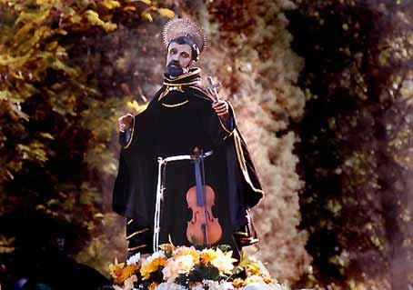Imagen del Santo venerada en su Montilla natal, Córdoba (España).