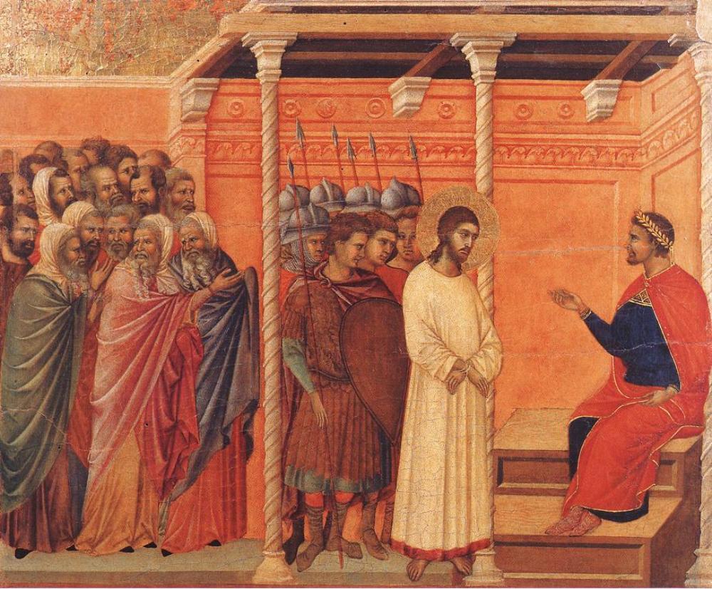 Jesús ante Pilatos | Pregunta Santoral
