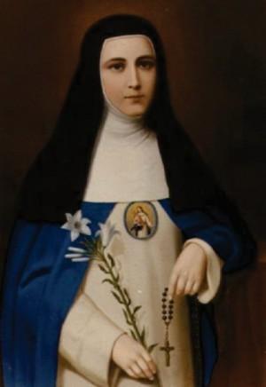 La Venerable Madre Mariana Francisca de Jesús Torres, vidente de Nuestra Señora del Buen Suceso. La pintura se encuentra en el convento de Quito y pertenece a una serie de retratos de las Madres Fundadoras del Monasterio Concepcionista.