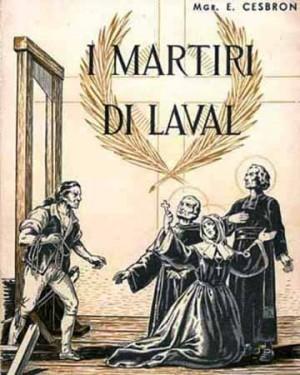 Los mártires de Laval. Ilustración de E.Cesbron.