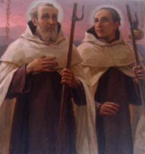 Pintura en la sacristia del Santuario de Arenzano, Italia.