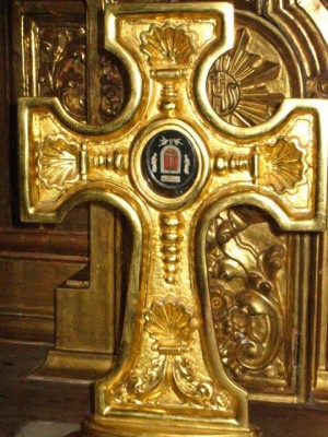 Reliquia de San Felipe de Jesús, en la Catedral de México.