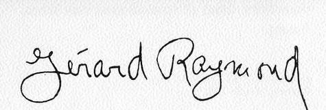 Vista de la firma del Siervo de Dios.