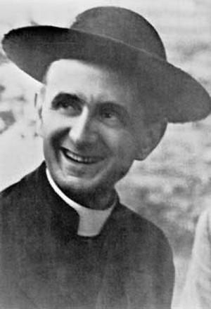 Foto tomada al Venerable en el año 1945.