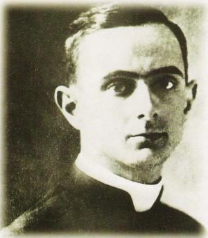 Fotografía del Venerable el día de su ordenación sacerdotal.