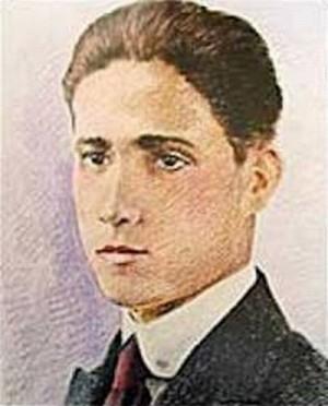 Dibujo a color del Beato Ramón Vargas.