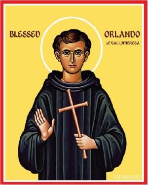 El Beato Orlando de Vallombrosa, imagen contemporánea.