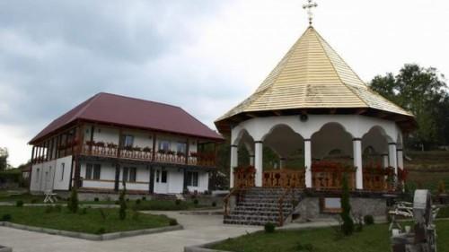 Centro turístico-religioso de San Pacomio en Gledin, ciudad natal del Santo (Rumanía).