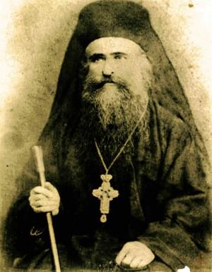 Fotografía del Santo en su atuendo de abad ortodoxo.