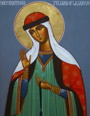 Icono ortodoxo americano de la Santa.