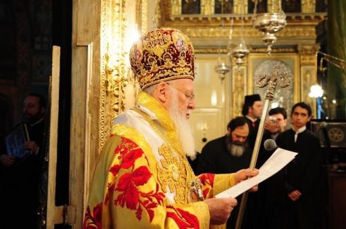Su Santidad Bartlomeos I, Patriarca Ecuménico de Constantinopla.