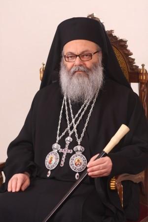 Su Beatitud Youanna X, Patriarca greco-ortodoxo de Antioquía y de todo el Oriente.
