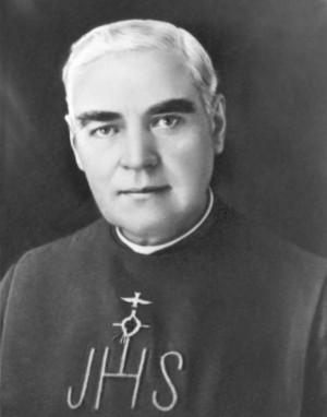 Fotografía del Santo con el hábito de los Misioneros del Espíritu Santo.