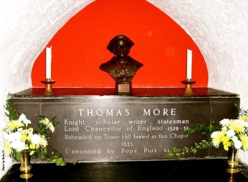 Vista del presunto sepulcro del Santo en Canterbury (Reino Unido).
