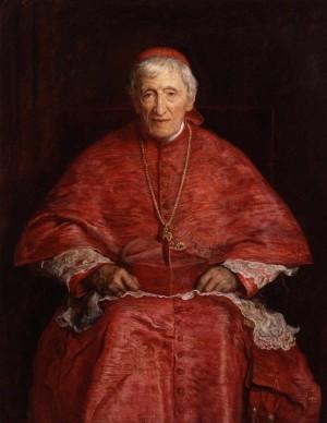 El Beato, ya como cardenal. Óleo de sir John Everett Millais.