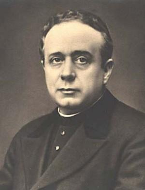 Fotografía más conocida del Santo, utilizada para estampas devocionales.
