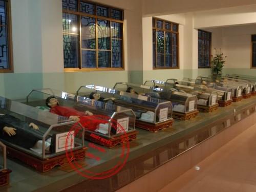 Simulacros de algunos de los Santos mártires en Vietnam.