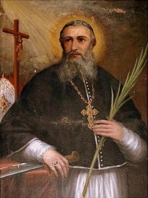 Santo Domingo Henares, obispo dominico, mártir en Vietnam.