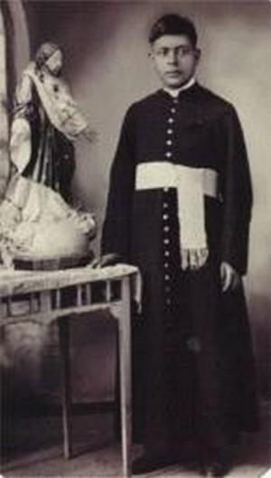 Fotografía de San Atilano Cruz, de seminarista.