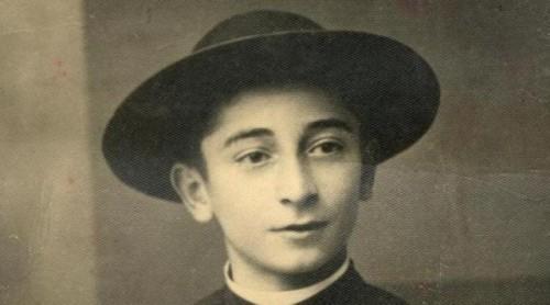 Fotografía del Beato Rolando Rivi, seminarista mártir.