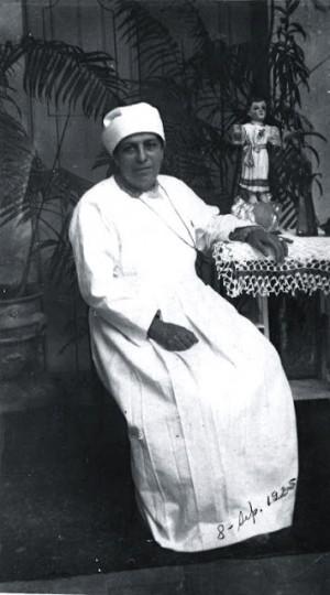 Fotografía de la Santa, fechada el 8 de septiembre de 1925.