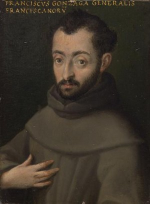 Retrato del Venerable Francisco Gonzaga en el Museo histórico de Viena, Austria.