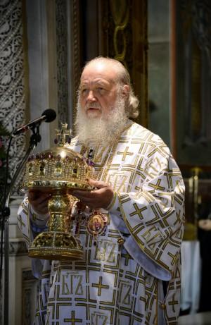 Su Santidad Kiril I, patriarca de Moscú y de toda la Rus'.