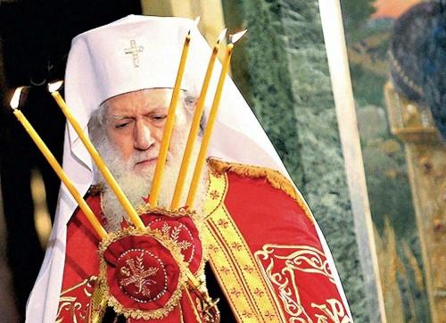 Su Santidad Neófitos, patriarca de Bulgaria.