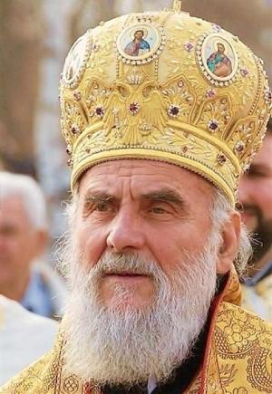 Su Santidad Irinej, arzobispo de Péc, metropolita de Belgrado y Karlovci y Patriarca Serbio.