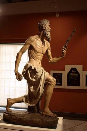 Ilustración 4. San Jerónimo penitente.  Pietro Torrigiano. Museo de Bellas Artes de Sevilla.