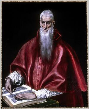 Ilustración 5. San Jerónimo. El Greco. Museo Metropolitano de Nueva York.