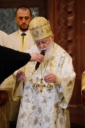 Su Santidad Ilia II, Katholikós-Patriarca de toda Georgia