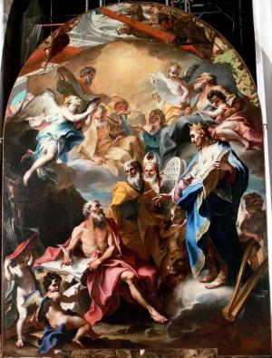 Ilustración 6. San Jerónimo traduce las Sagradas Escrituras. Stefano Maria Legnani.