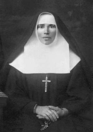 Fotografía de la Beata Olimpia (Olga Bida), religiosa mártir ucraniana.