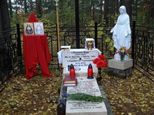 Sepulcro de las Beatas Olimpia Bida y Lorenza Herasymiv, religiosas mártires.