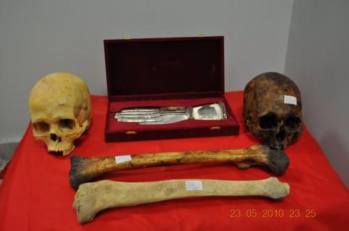 Reliquias robadas en Grecia.