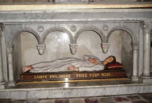 Santa Filomena en Gaillac, Francia. Fotografía de Montserrat Báez.