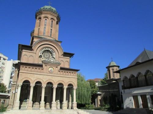 Vista del monasterio Antimo en Bucarest (Rumanía). Fotografía: Mitrut Popoiu.