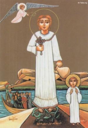 Otra versión del mismo icono. Fuente: www.st-Takla.org