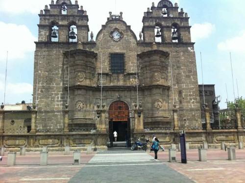 Vista de la fachada del Santuario de Guadalupe, creado por el Siervo de Dios Antonio Alcalde.