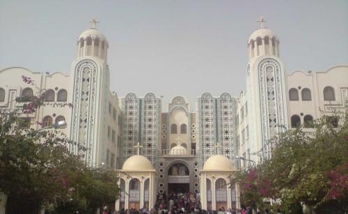 Monasterio de San Menas en Mariut (Egipto).